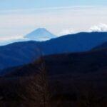 山頂からの富士山